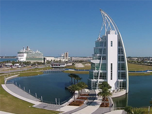 Exploration Tower - Port Canaveral, Florida