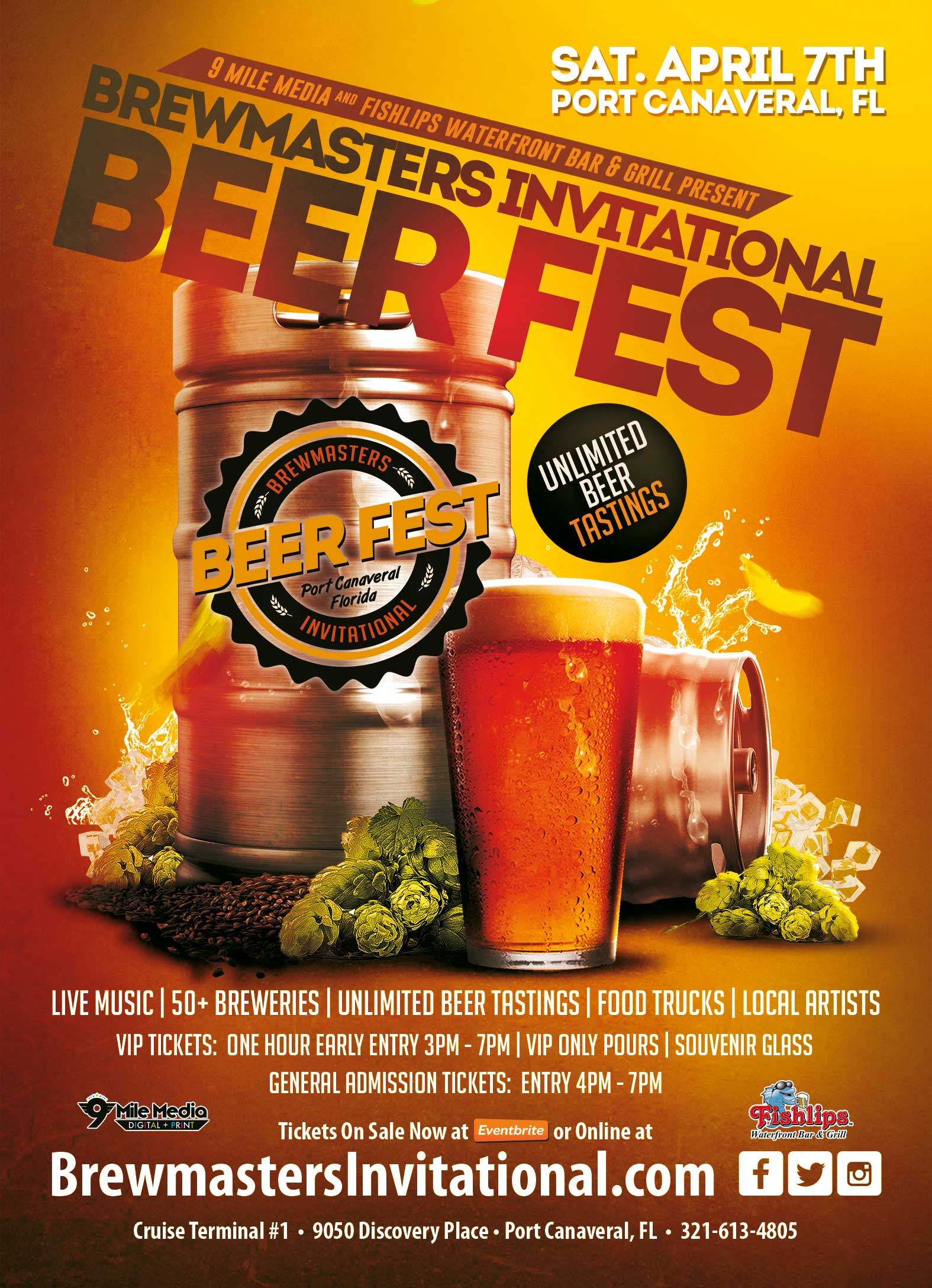 2018 Brewmasters Invitational Beer Festival